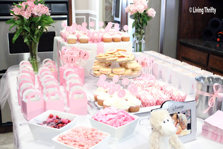 Sweet Buffet For 1st Birthday Party Living Thrifty SaveEnlarge Free One Year Old